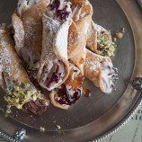 Portion Control - Gelato filled Cannoli