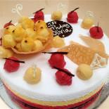 Sorbetto Cake - Tutti Frutti